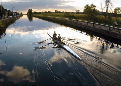 Il suono dell'acquaI Navigli, Milano