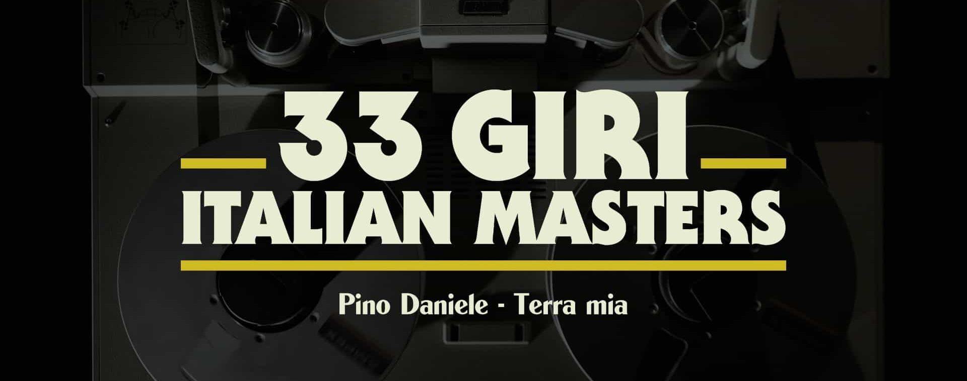 33 giri Italian Masters ・ PINO DANIELE
